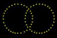 EASYBOX Lichterbild Ringe