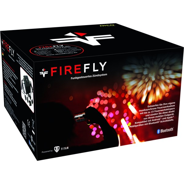 FireFly, 15-Kanal Funk-Zündanlage